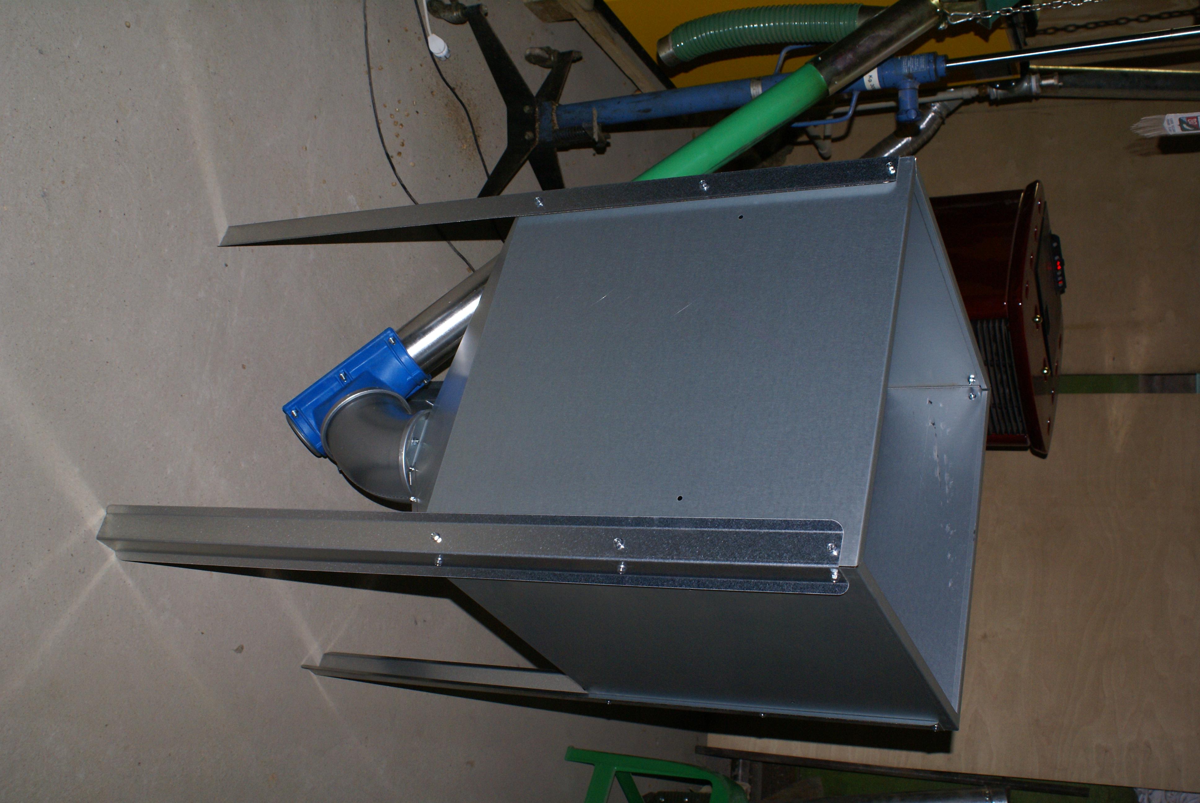 Бункер для пеллет - Отопление своими руками