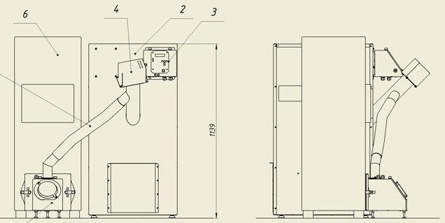 Каркасный дом 5х6 проект своими руками 57