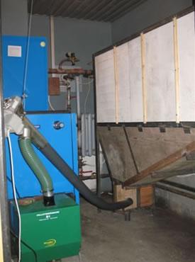 пеллетный бункер 50 кВт уголок фанера